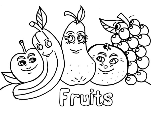 fruit coloring page # 18