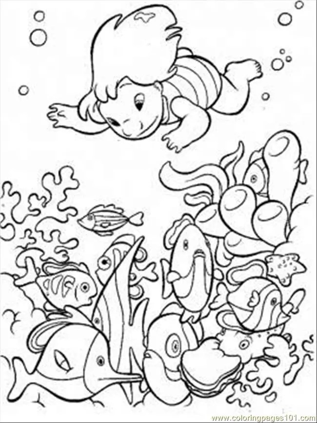 free printable ocean coloring pages for kids - Ocean Coloring Pages