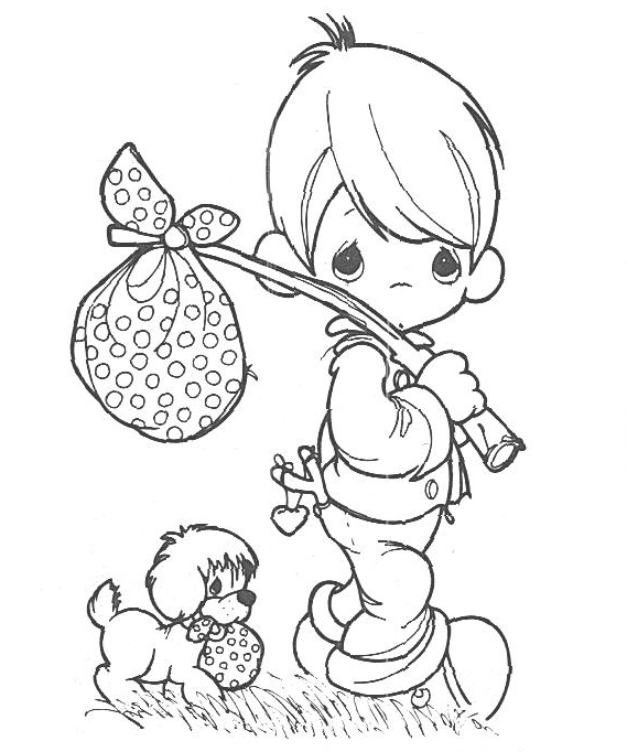 christmas coloring pages precious moments coloring pages