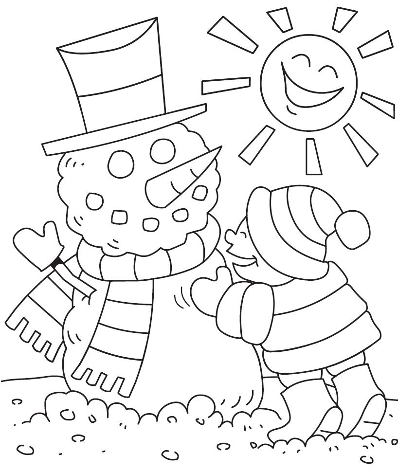 Free Printable Winter Coloring Pages For Kids   winter coloring pages  free