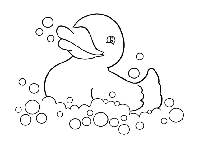 Duck Coloring Pages - Best Coloring Pages For Kids