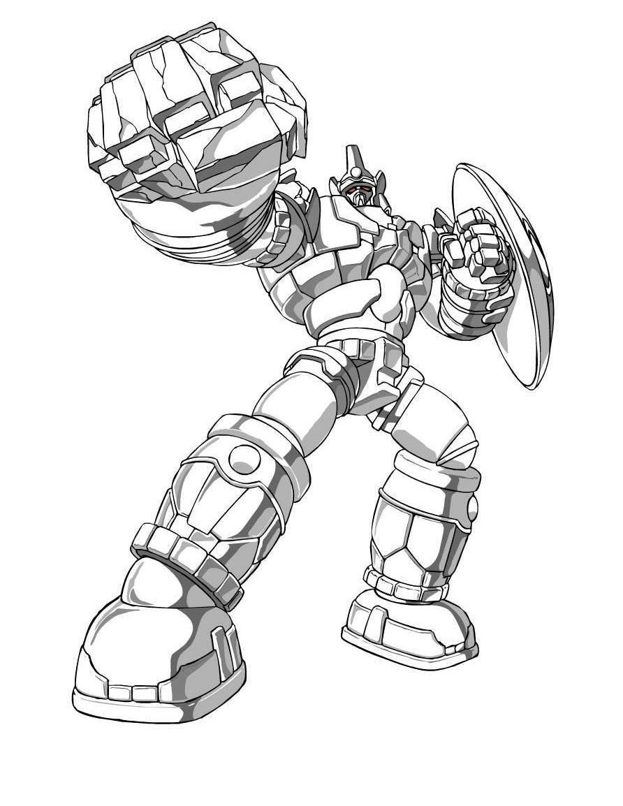 Free Printable Bakugan Coloring Pages For Kids