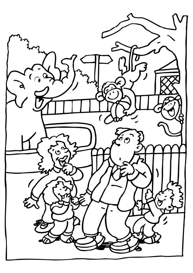 Free Printable Zoo Coloring Pages For Kids | free printable colouring pages zoo animals