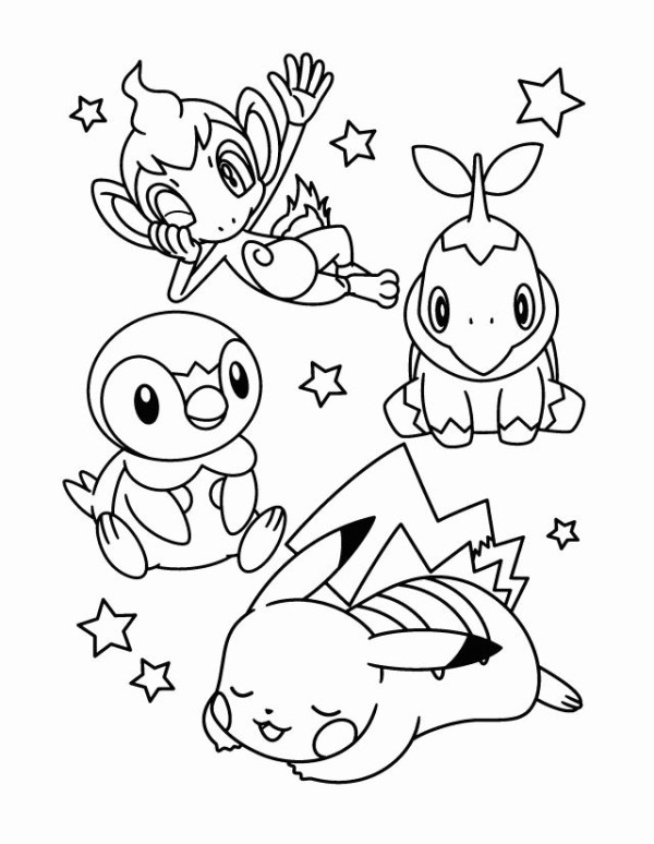 pokeman coloring pages # 16