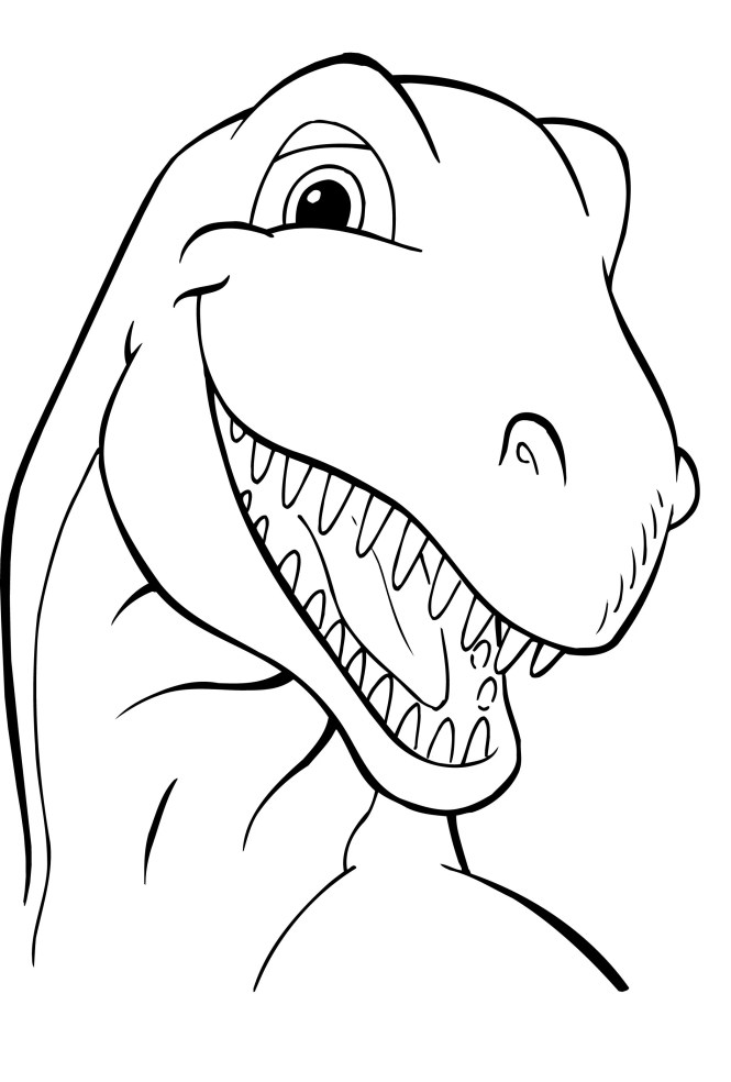 free printable dinosaur coloring pages for kids - Free Printable Dinosaur Coloring Pages