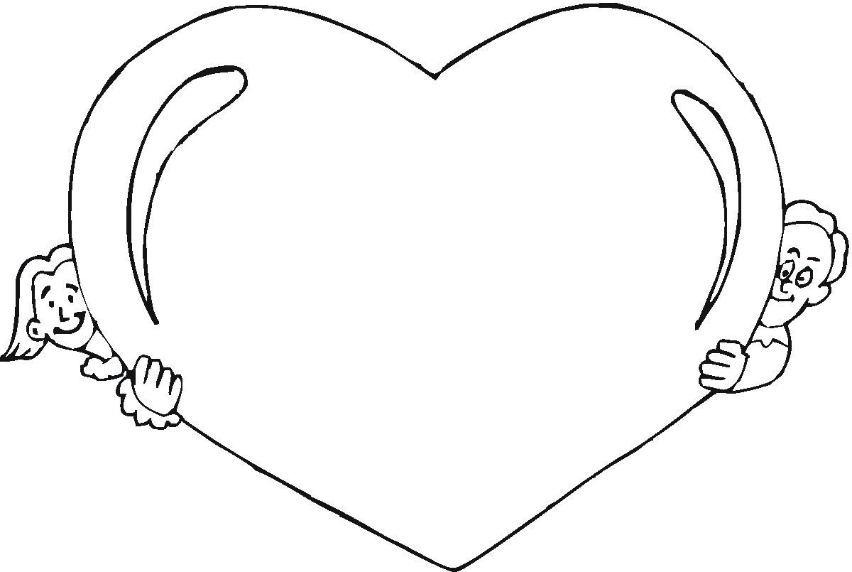 Free Printable Heart Coloring Pages For Kids