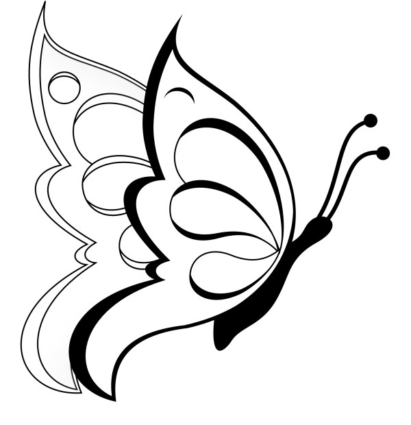 free printable butterfly coloring pages # 65