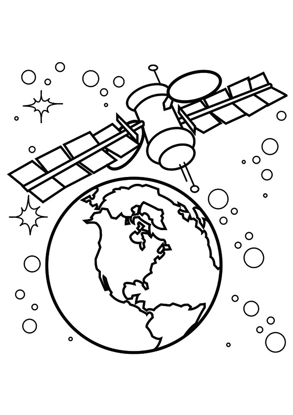 space coloring page # 47