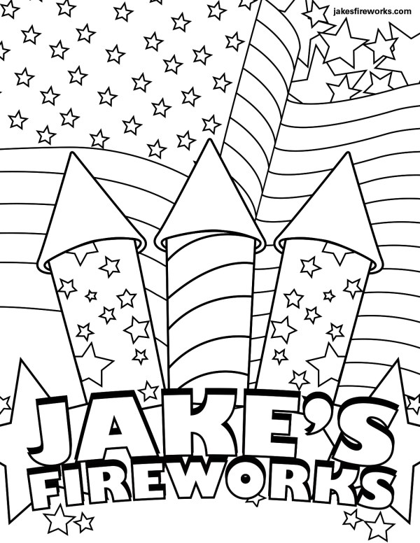 firework coloring pages # 12
