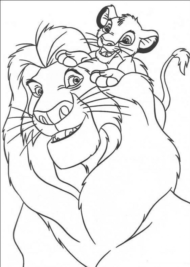 Free Printable Simba Coloring Pages For Kids | printable coloring pages for kids.