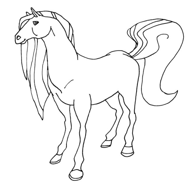 Horseland Coloring Pages Pepper | Coloring Page for kids
