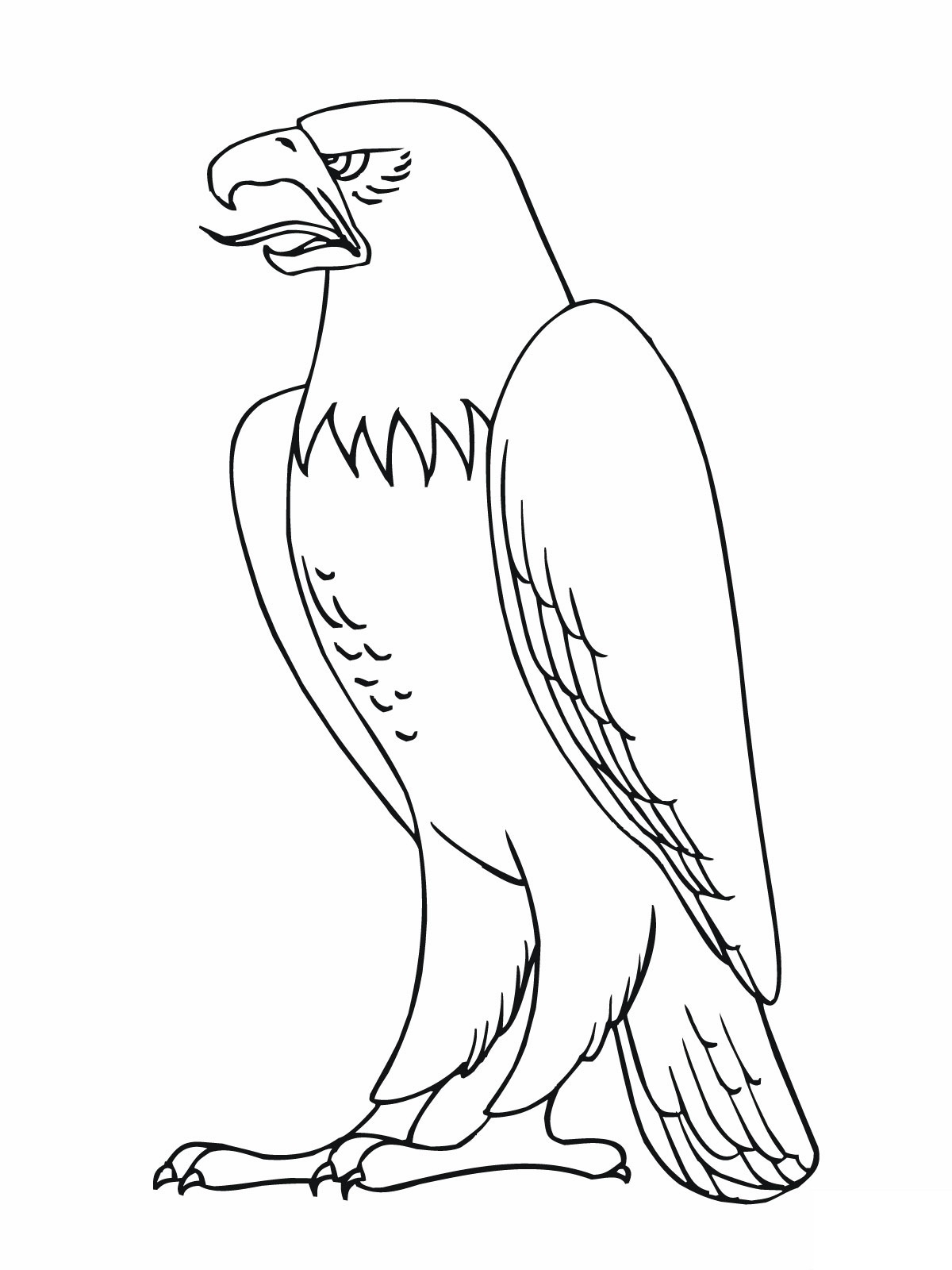 Eagle Printable Coloring Pages