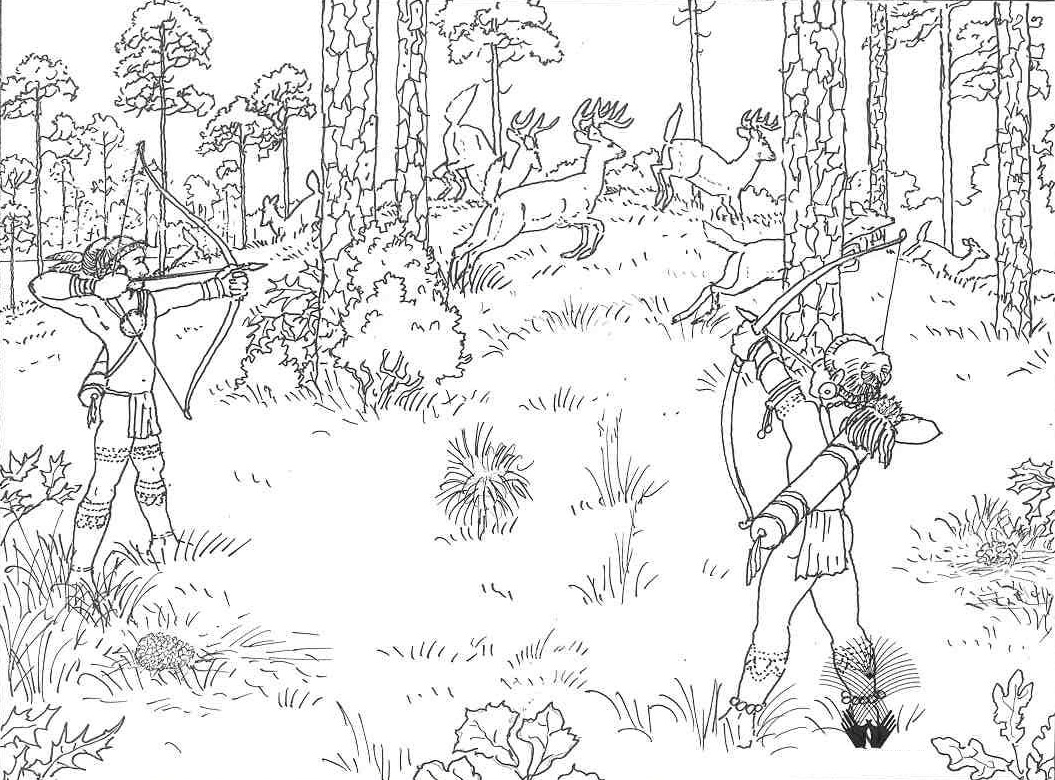 Deer Hunting Coloring Pages Free Coloring Pages Download | Xsibe ...