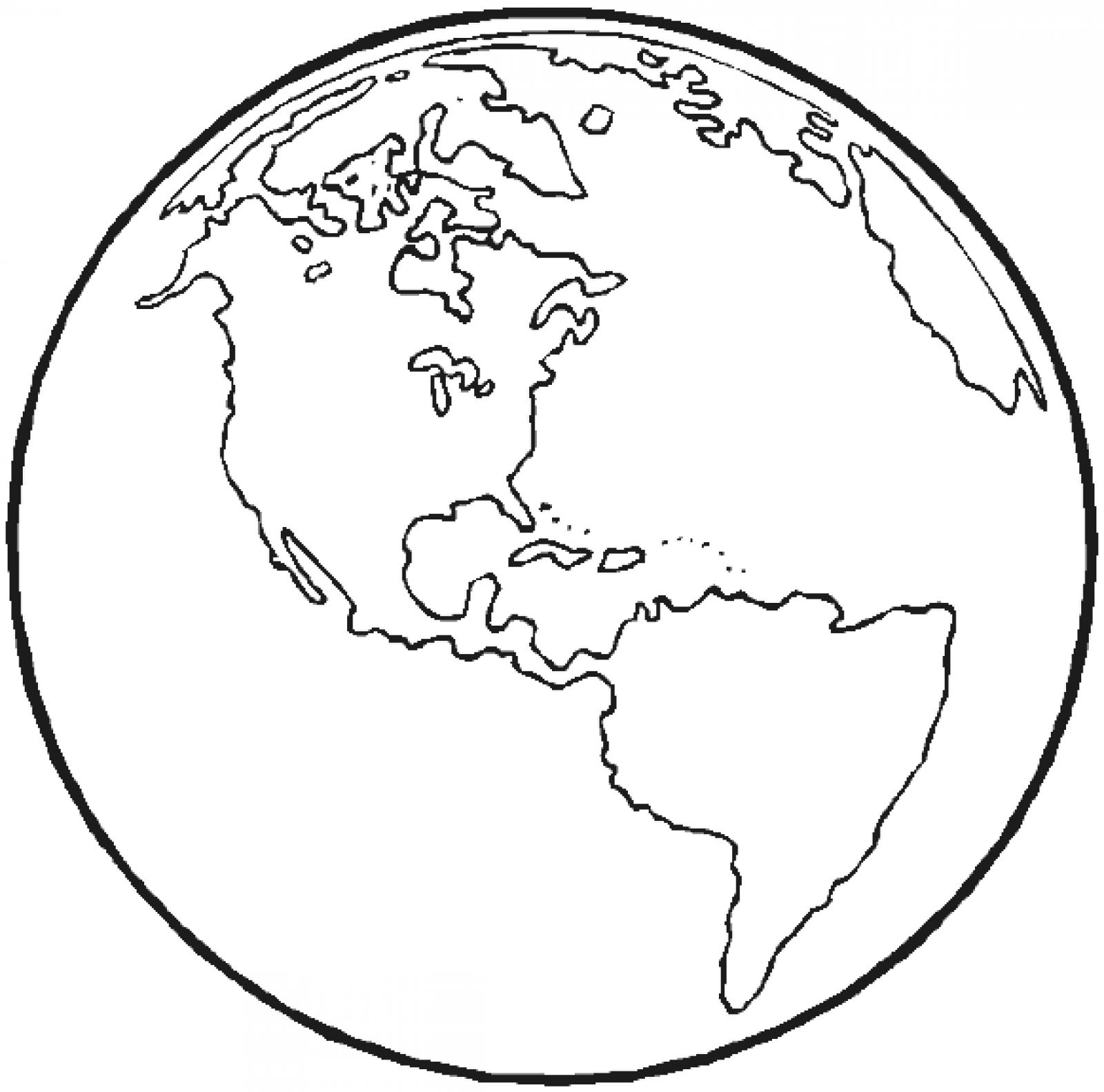 Earth Coloring Pages For Preschoolers Coloring Pages