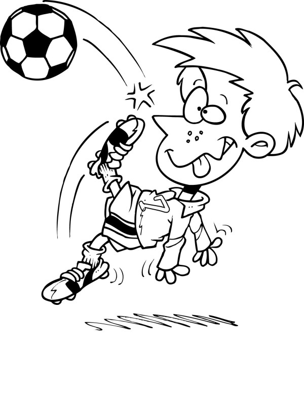 soccer coloring page # 78
