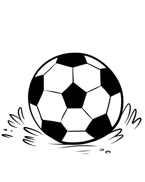 soccer coloring page # 12