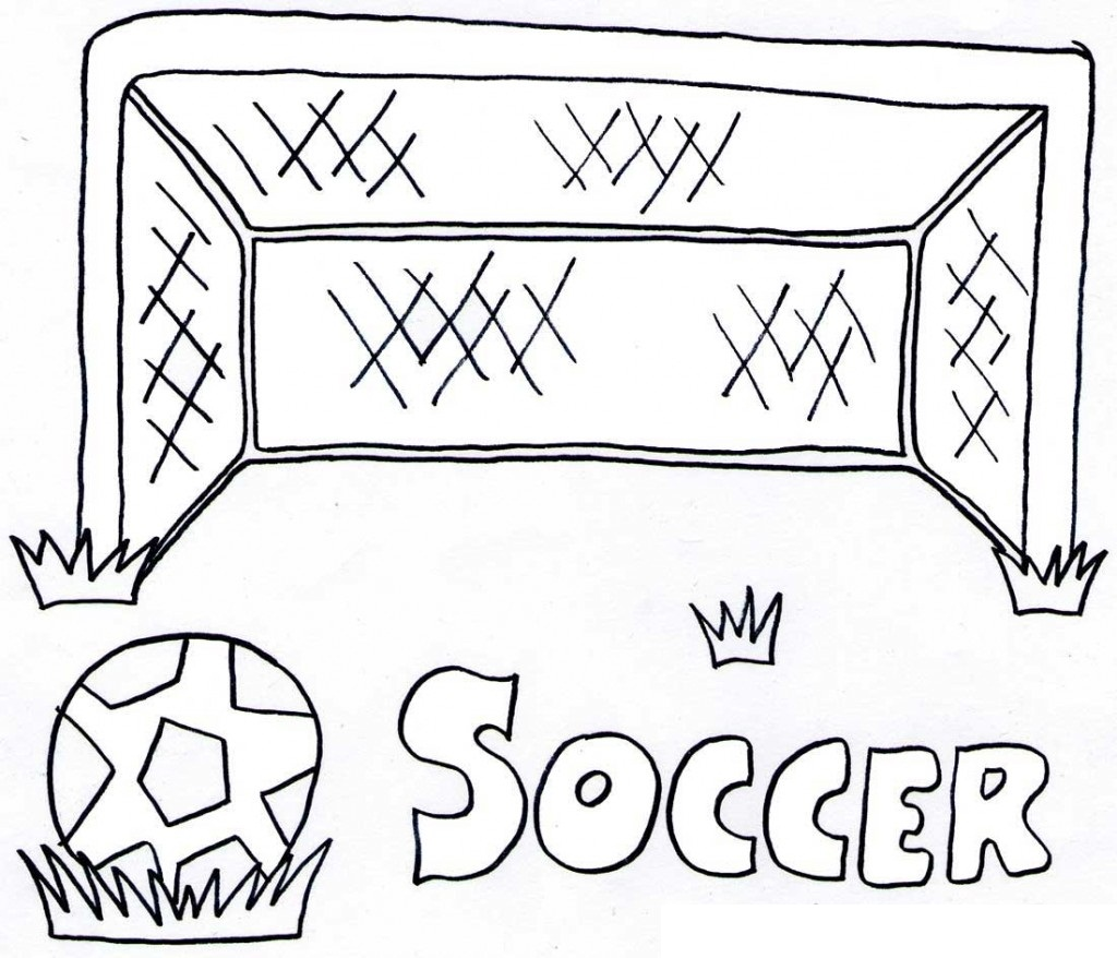 Free Printable Soccer Coloring Pages For Kids