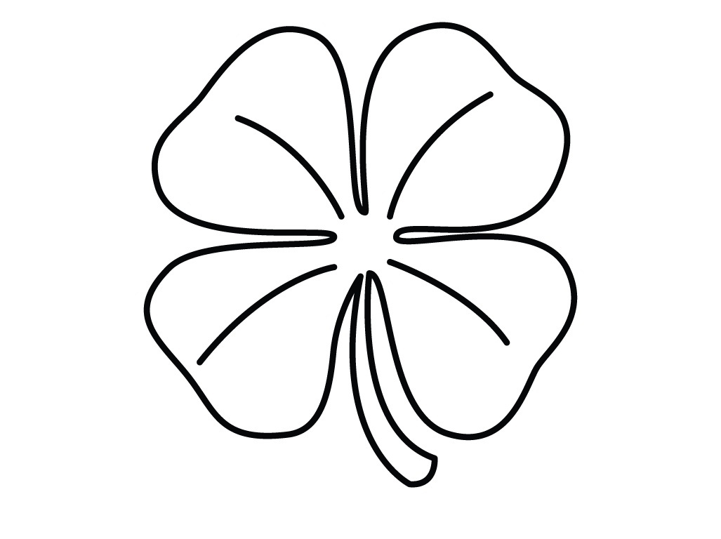 Free Printable Shamrock Coloring Pages For Kids