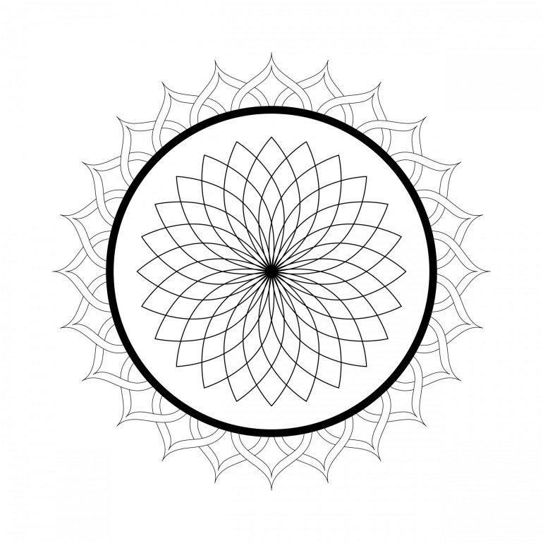 Free Printable Mandala Coloring Pages For Adults - Best ... | free printable mandala coloring pages for adults