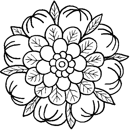 coloring pages mandalas # 19