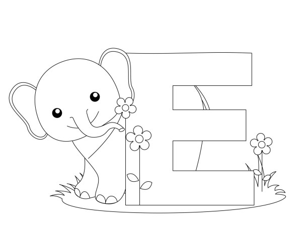 letters coloring pages # 18