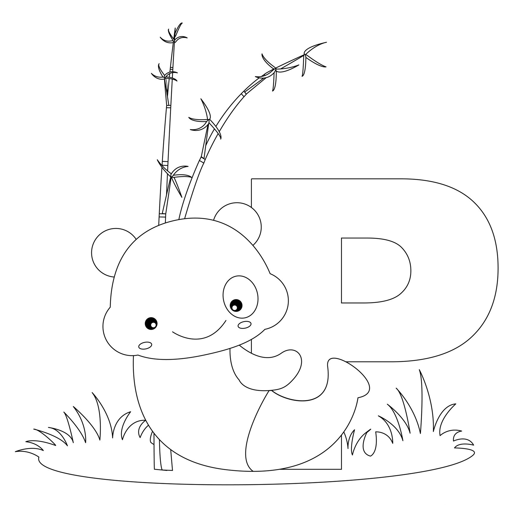 Free Printable Alphabet Coloring Pages For Kids