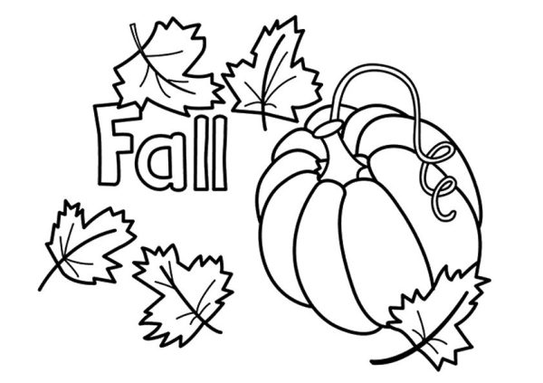 fall coloring pages for preschoolers # 0