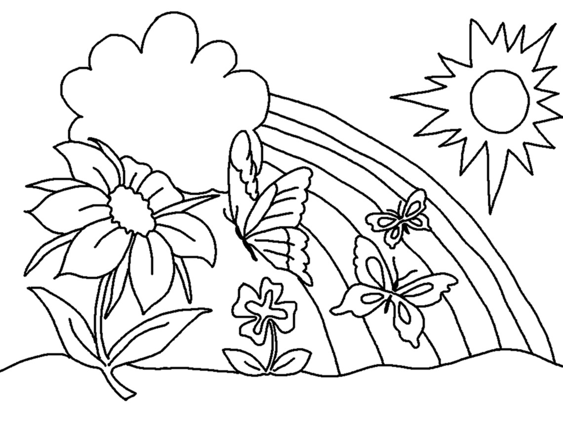 Free Printable Flower Coloring Pages For Kids - Best ... | colouring pages flowers