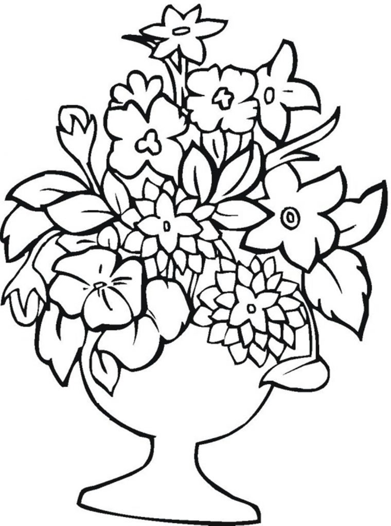 flower printables | colouring pages flowers free