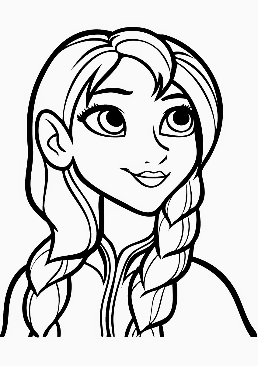 Free Printable Frozen Coloring Pages for Kids - Best ...   coloring pages for preschoolers