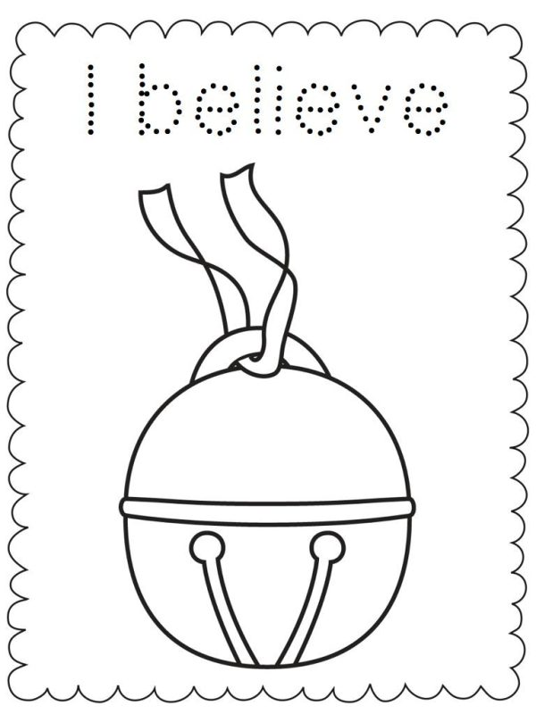 polar express coloring pages free # 6