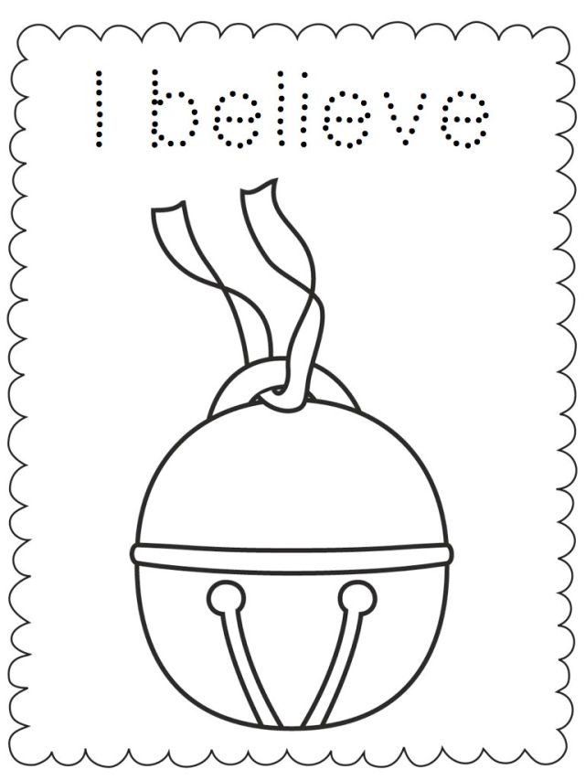 Polar Express Coloring Pages - Best Coloring Pages For Kids