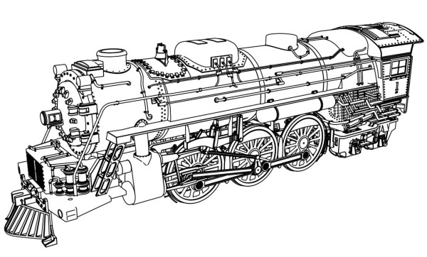 train coloring pages # 59