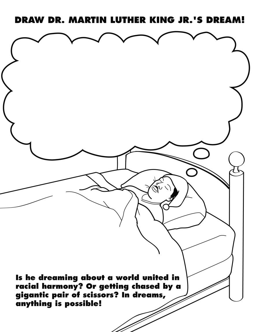 Martin Luther King Jr Coloring Pages and Worksheets - Best ...