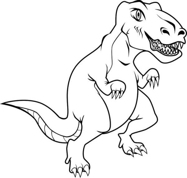 tyrannosaurus rex coloring page # 11