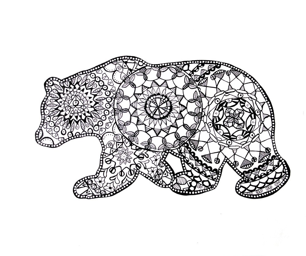 Adult Coloring Pages Animals - Best Coloring Pages For Kids | free printable coloring pages for adults only animals