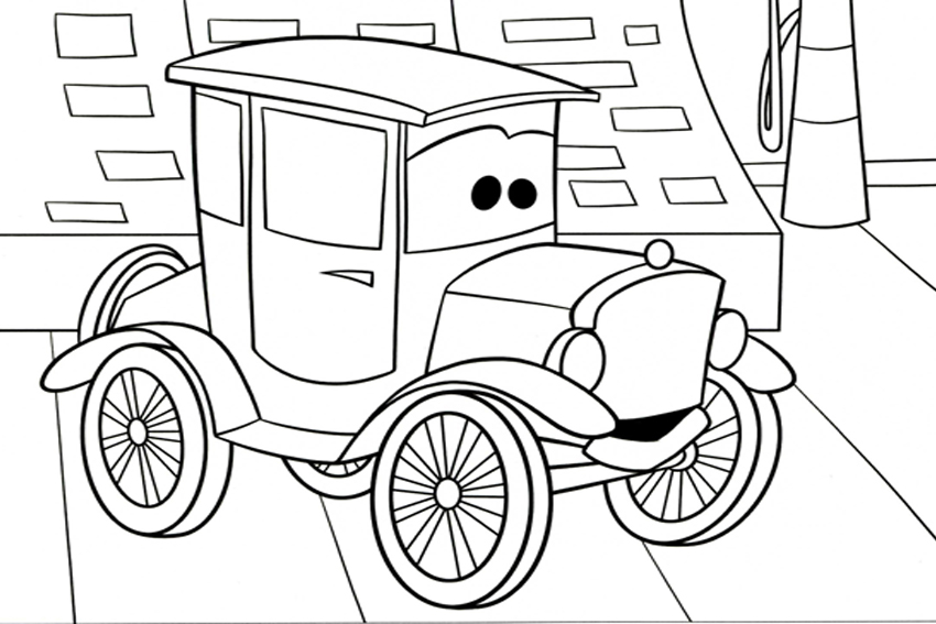 Cars Coloring Pages Best Coloring Pages For Kids