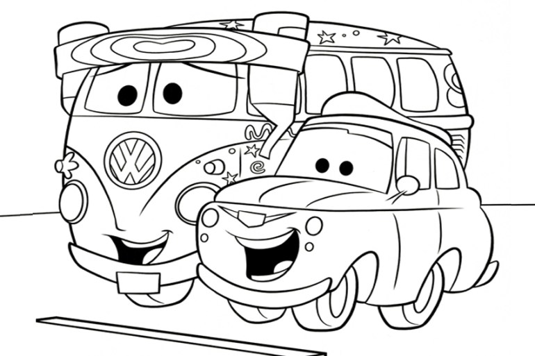 Cars Coloring Pages - Best Coloring Pages For Kids | disney cars coloring pages free printable