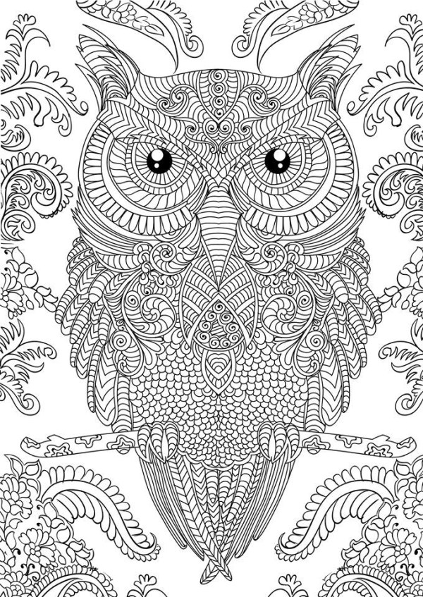 hard coloring pages for adults # 31