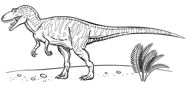 Velociraptor Coloring Pages - Best Coloring Pages For Kids
