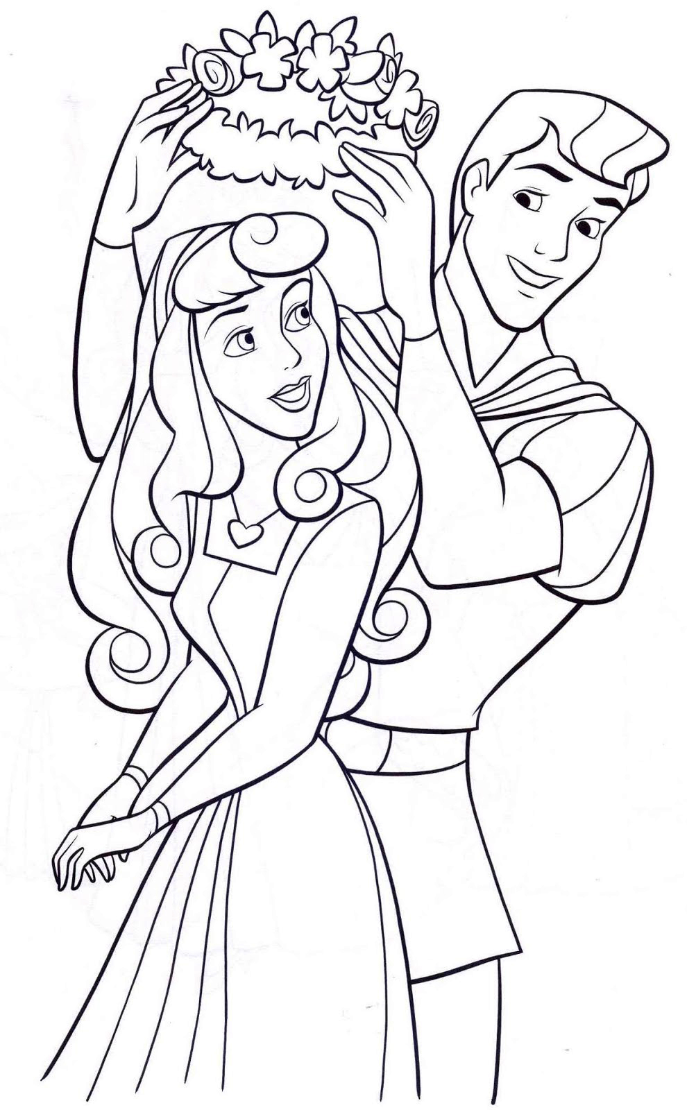 Princess Coloring Pages - Best Coloring Pages For Kids   colouring pages to print disney princess