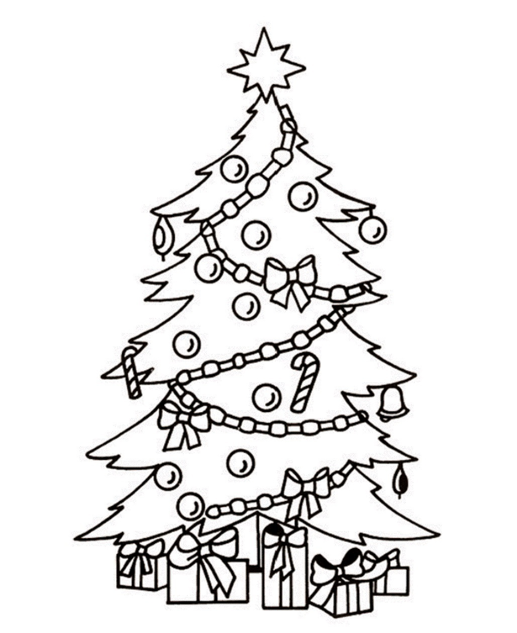 Presents Coloring Pages