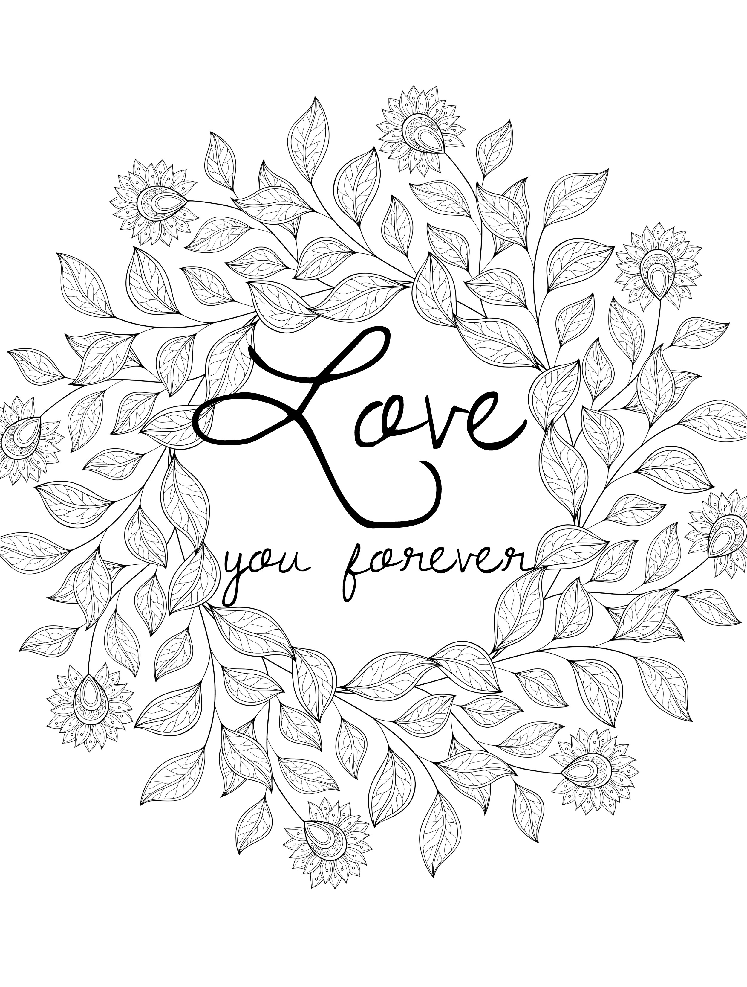 Valentines Day Coloring Pages For Adults