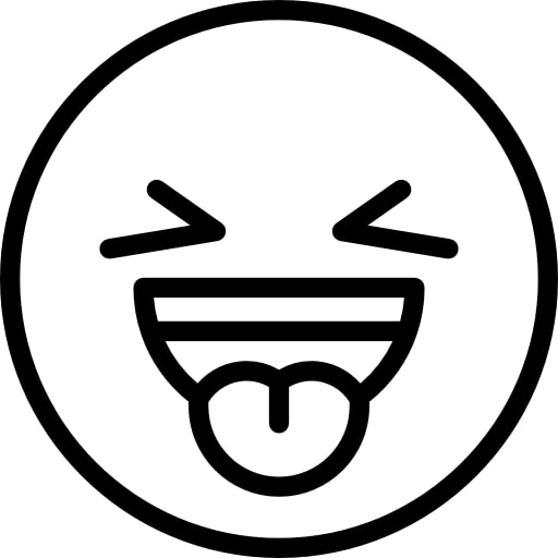 Emoji Coloring Pages Sticking out Tongue