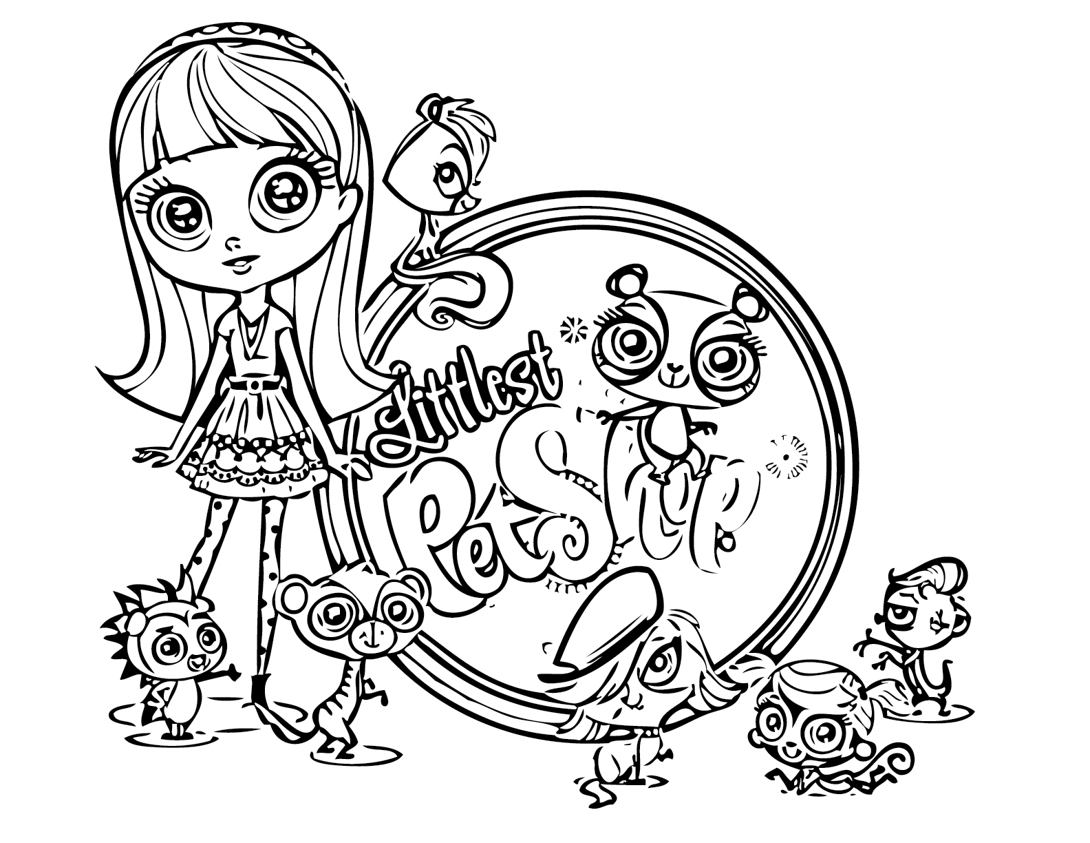 Littlest Pet Shop Coloring Pages Best Coloring Pages For Kids