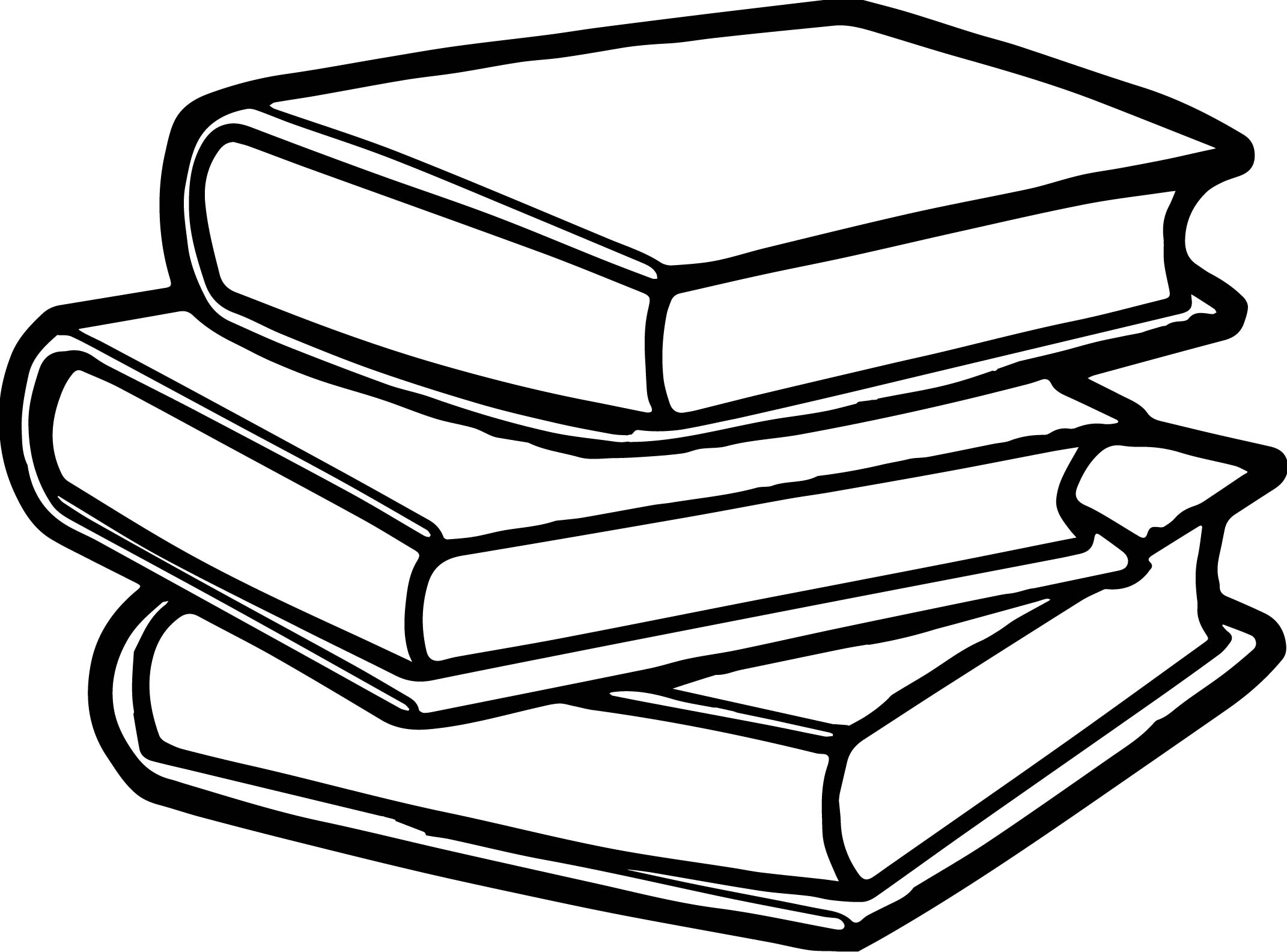 Books Coloring Pages