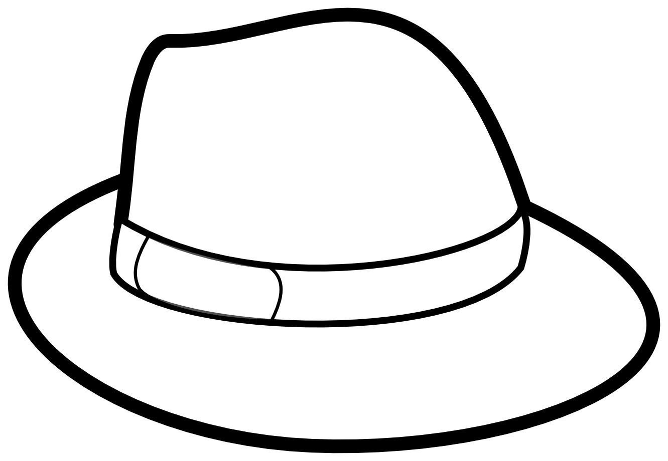 Hat Coloring Pages Best Coloring Pages For Kids