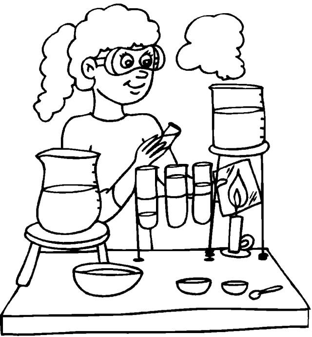 Science Coloring Pages - Best Coloring Pages For Kids