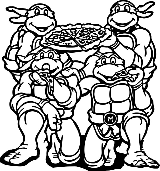 Teenage Mutant Ninja Turtles Coloring Pages - Best Coloring Pages