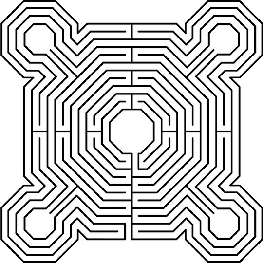 maze coloring pages # 52